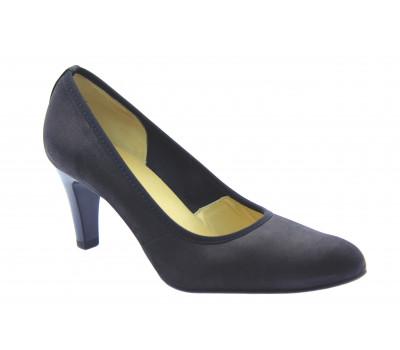 Модельные туфли Peter Kaiser из нубука черные 73529-073