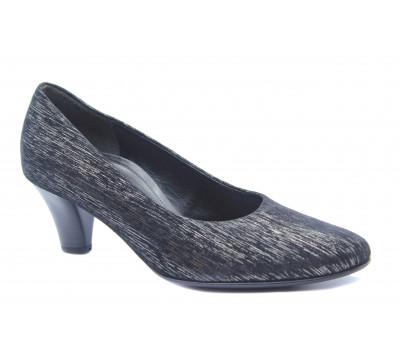 Модельные туфли Gabor замшевые черные 56170-32