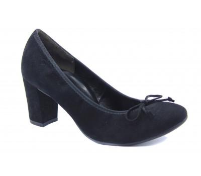 Туфли Paul Green замшевые черные 3801-411