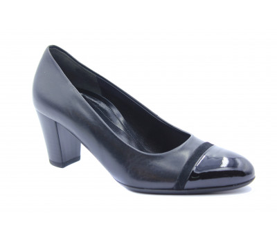 Модельные туфли Gabor кожаные черные 42162