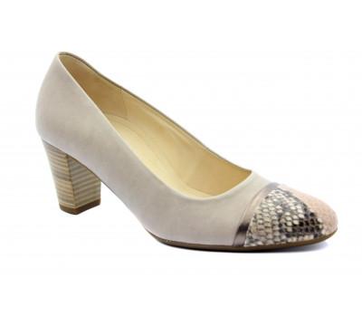 Модельные туфли Gabor кожаные бежевые 42162