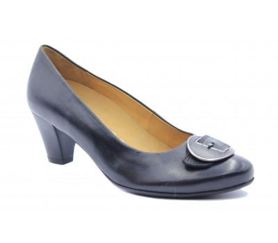 Модельные туфли Gabor кожаные черные 82153