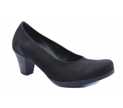 Туфли Gabor из нубука черные 62080