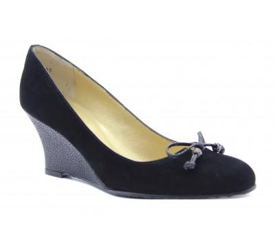 Туфли Peter Kaiser замшевые черные 70405-718