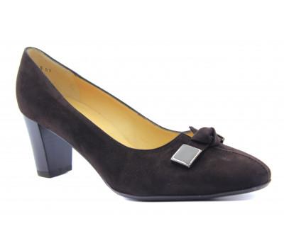 Туфли Peter Kaiser замшевые коричневые 52235-208