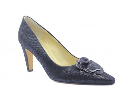 Модельные туфли Peter Kaiser из крека черные 64623-249
