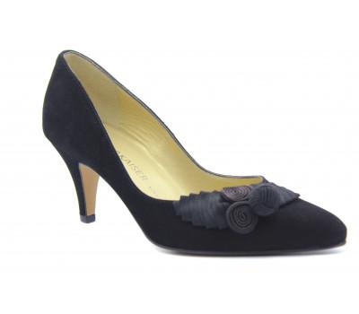 Модельные туфли Peter Kaiser замшевые черные 61647-240