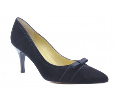 Модельные туфли Peter Kaiser замшевые черные 75537-603