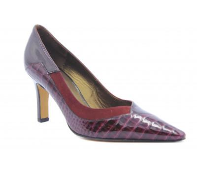 Модельные туфли Peter Kaiser из лакированной кожи цвета бордо 74861-853