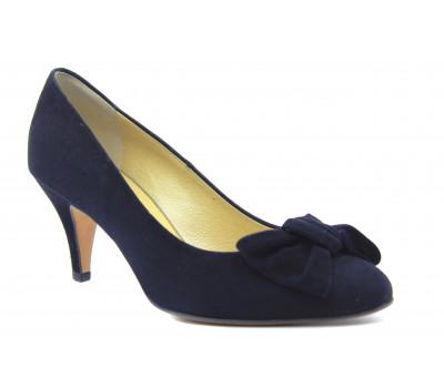 Модельные туфли Peter Kaiser замшевые черные 71339-240