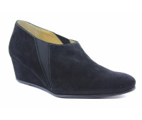 Демисезонные  туфли Hassia замшевые черные