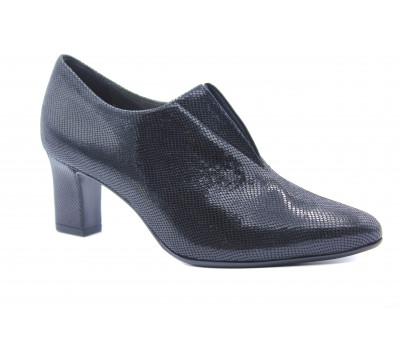 Туфли Peter Kaiser черные из крека