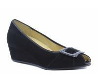 Туфли Hassia замшевые черные
