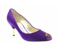 Модельные туфли K&S замшевые фиолетовые