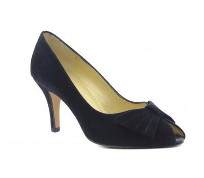 Модельные туфли Peter Kaiser черные замшевые 96505-850