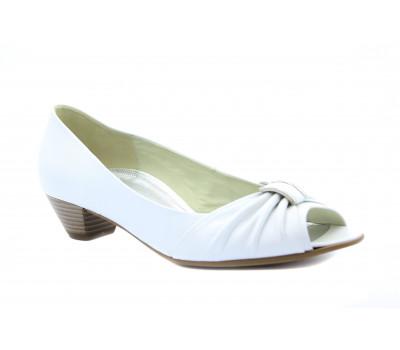 Туфли Gabor кожаные белые 82252