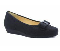 Туфли Hassia черные замшевые