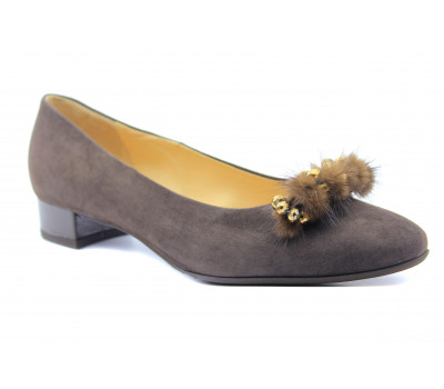 Туфли Peter Kaiser замшевые коричневые 21603-277