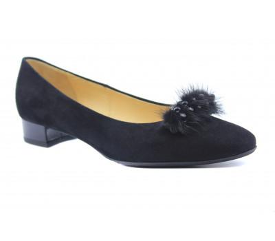 Туфли Peter Kaiser замшевые черные 21603-554