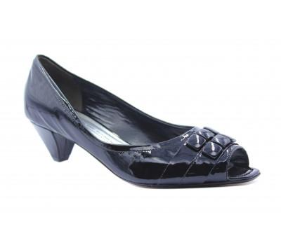 Туфли K&S из лакированной кожи черные 43060-140