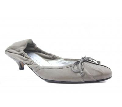 Туфли K&S кожаные серые 39500-379