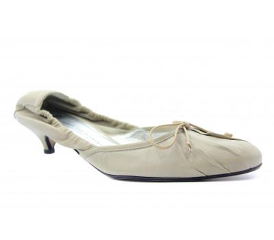 Туфли K&S кожаные серые 39500-386
