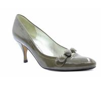 Модельные туфли K&S из лакированной кожи серые