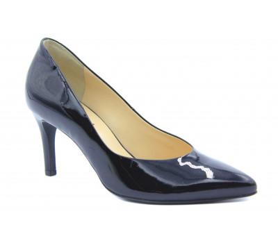 Модельные туфли Hogl из лакированной кожи черные 4-107004