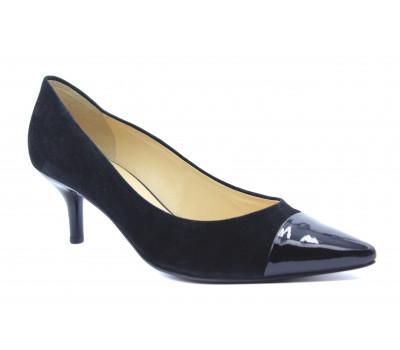 Модельные туфли Hogl замшевые черные 5-105512