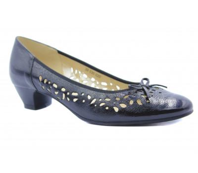 Туфли  Hasley черные из лакированной кожи 39530-020