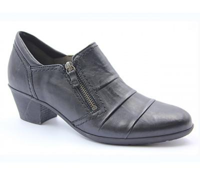 Демисезонные туфли Gabor кожаные черные 94491