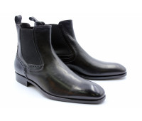 Сапоги ROMIT кожаные черные