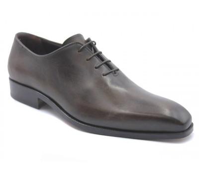 Туфли ROMIT HAND MADE кожаные темно-коричневые 9475
