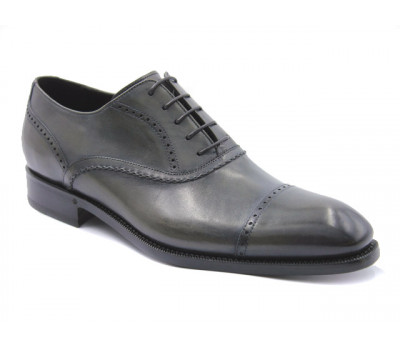 Туфли ROMIT HAND MADE кожаные серые 11283