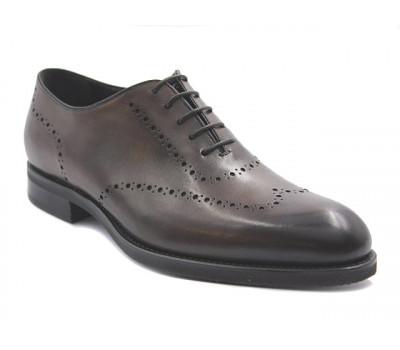 Туфли ROMIT HAND MADE кожаные темно-коричневые 16509