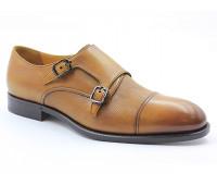 Туфли ROMIT HAND MADE кожаные рыжие