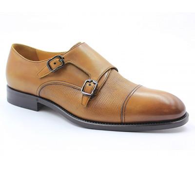 Туфли ROMIT HAND MADE кожаные рыжие 16219